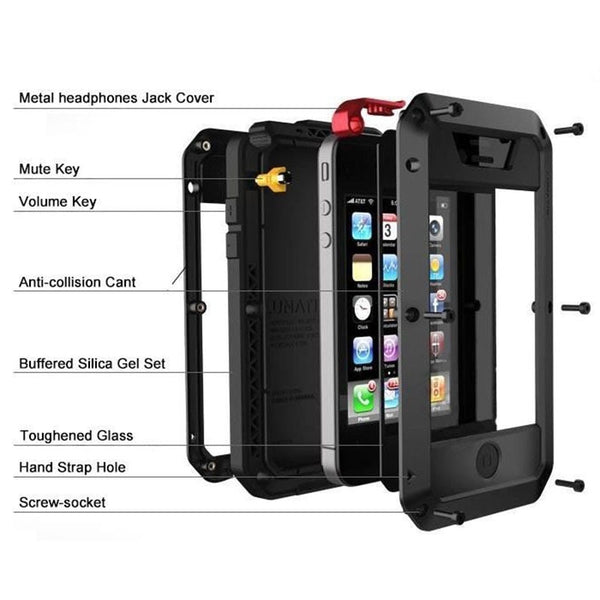 Heavy Duty iPhone Tank Armor Cases - www.bluesystem.com.au