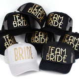 Team Bride Baseball Cap Mesh Hat - www.bluesystem.com.au