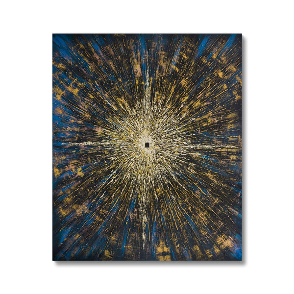 Tawaaf 2.5 (Star) Canvas | Siddiqa Juma