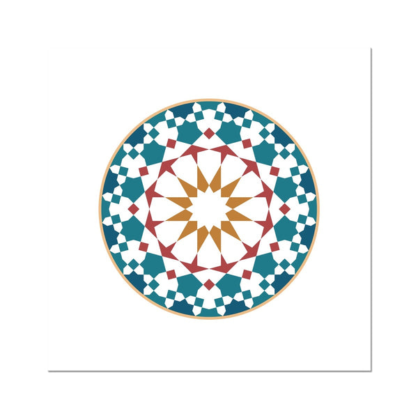 The Circle Art Print | Islam Farid