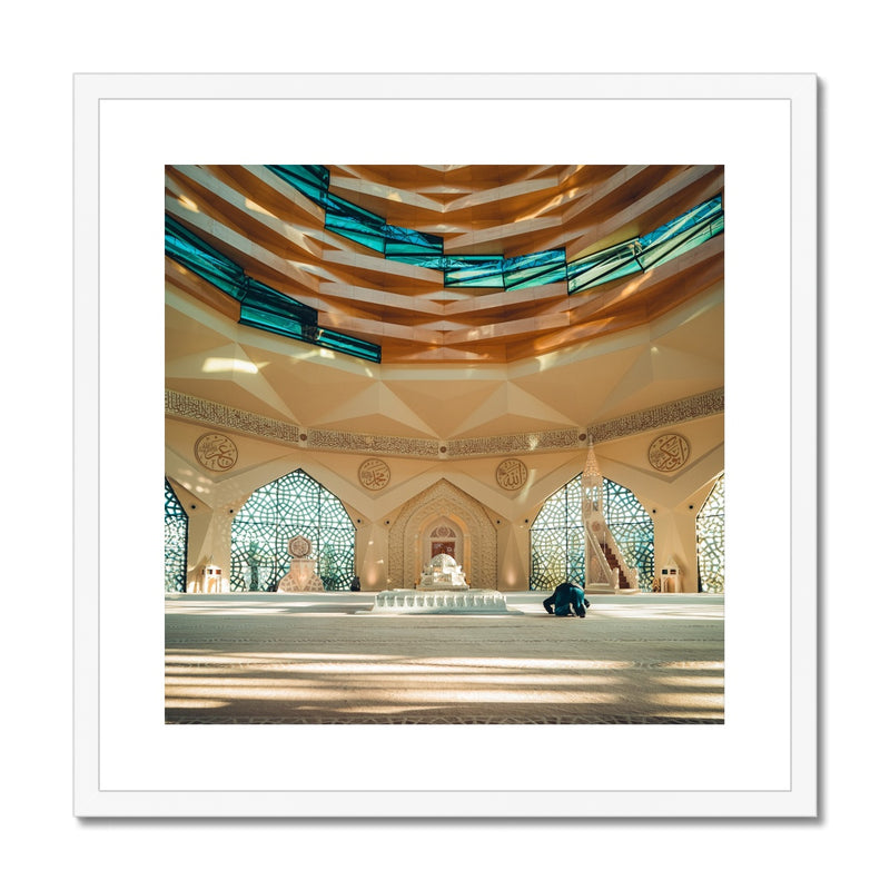 Faith meets Architecture Framed Print | Abdelmalek Bensetti