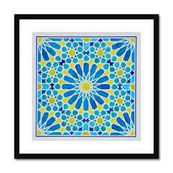 Turquoise Framed Print | Marido Coulon