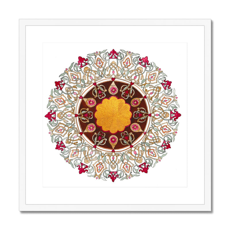 Autumn Gold Framed Print | Emily Washington