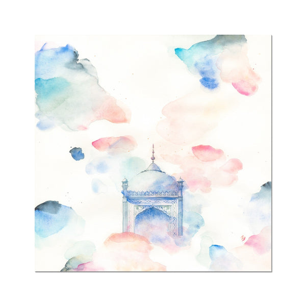 Royal Sanctuary Art Print | Nadia Djavanshir