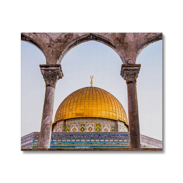 Dome of the Rock Canvas| Sara Russell