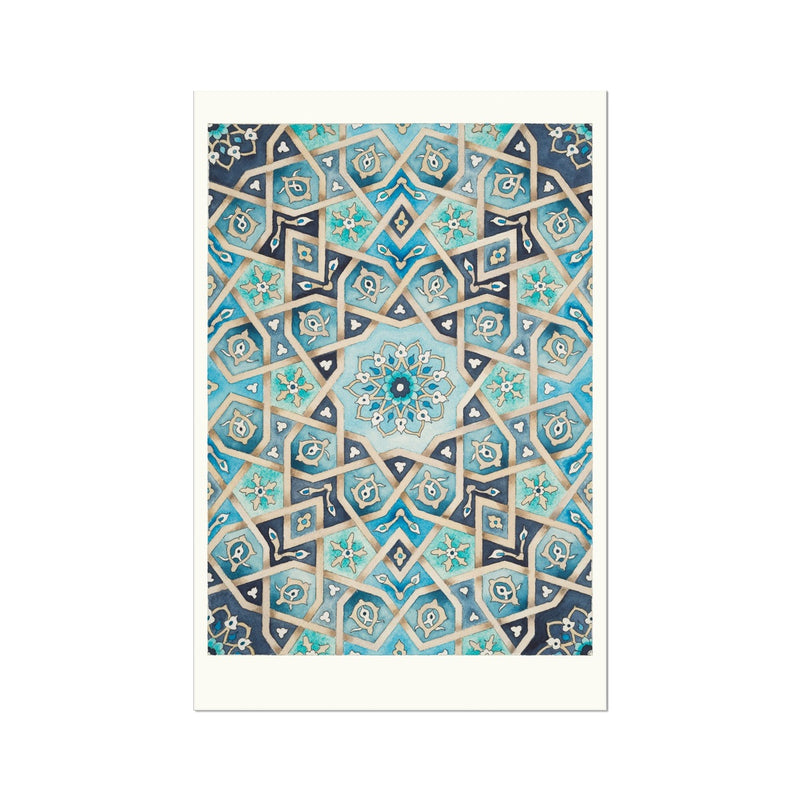 Baraka Blues Art Print | Margi Lake
