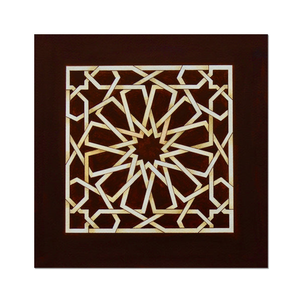 Square of Chocolate Art Print | Marido Coulon