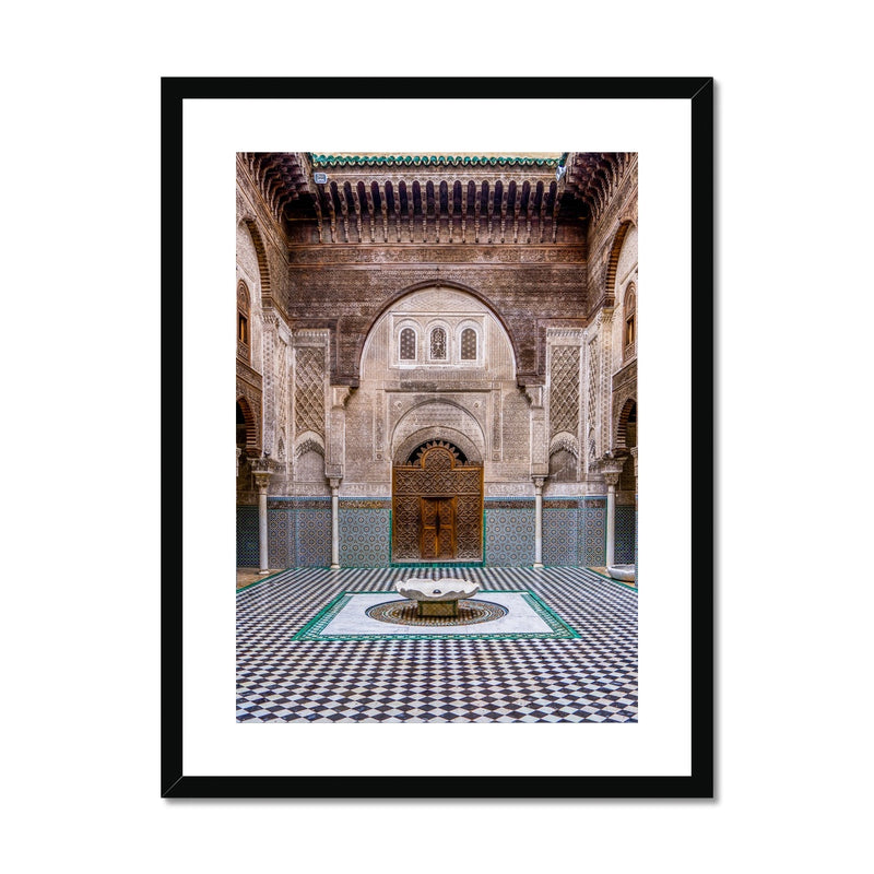 Moroccan Series 001 | Sara Russell Framed & Mounted Print