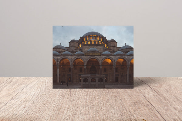 Light Upon Light Fine Art Card | AbdelMalek Bensetti