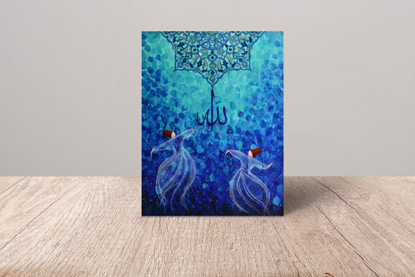 Dervish Fine Art Card | Fatima Agha