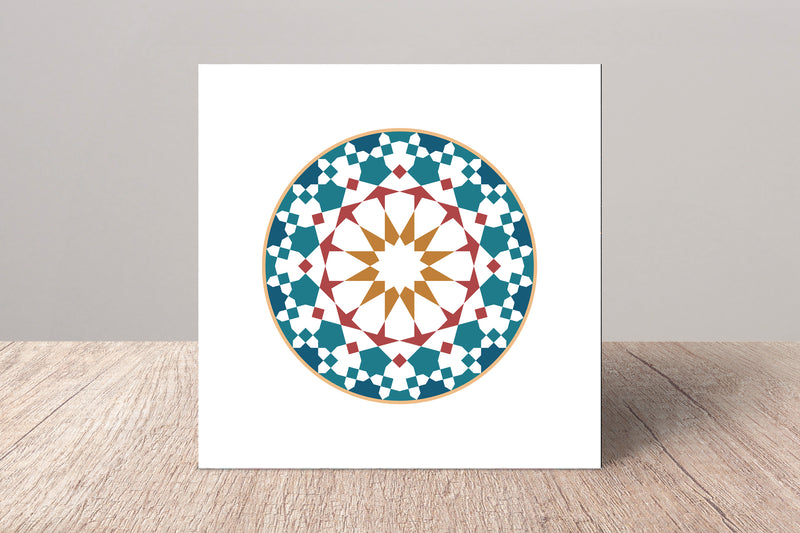 The Circle Fine Art Card | Islam Farid