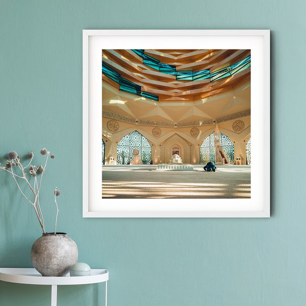 Faith meets Architecture Art Print | Abdelmalek Bensetti