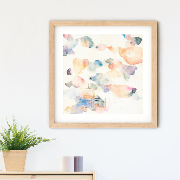 Eternal Love Art Print | Nadia Djavanshir