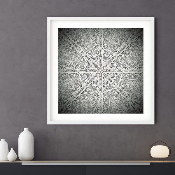 Kiswah Re-imagined Framed Print | Bilal Hassam