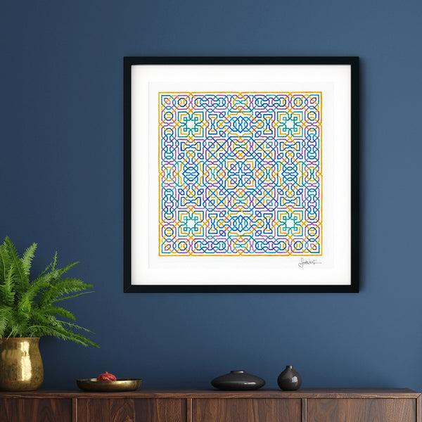 Intertwined Lives Art Print | Sandy Kurt