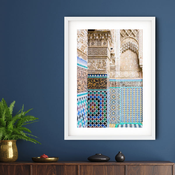Moroccan Series 003 | Sara Russell Framed & Mounted Print
