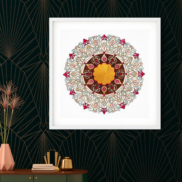 Autumn Gold Art Print | Emily Washington