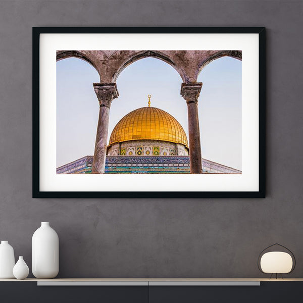 Dome of the Rock Art Print | Sara Russell