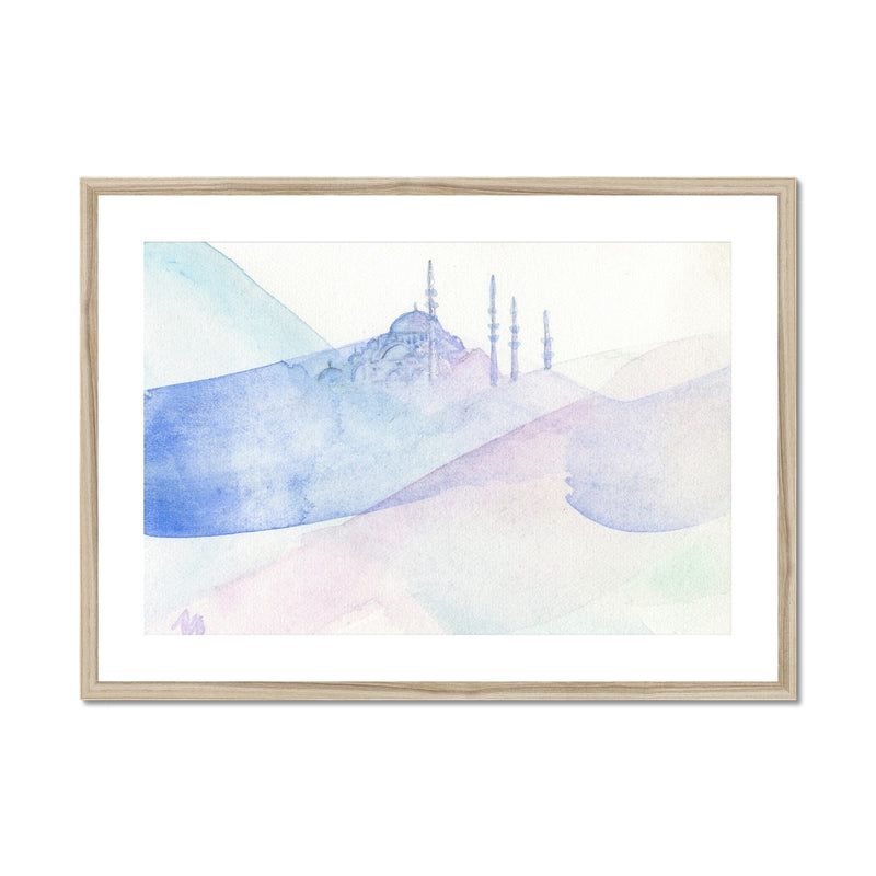 Blue Mosque | Nadia Djavanshir Framed & Mounted Print
