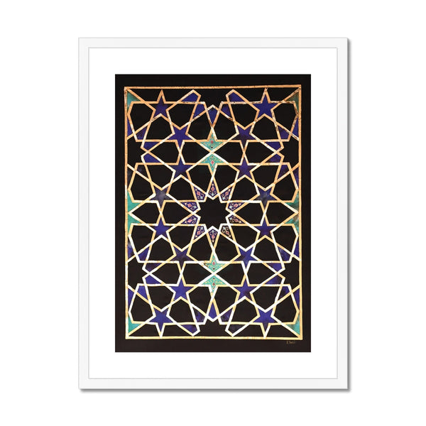 Midnight in Persia Framed Print | Raanaz Shahid