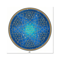 Geometry and the Night Sky Art Print | Lieve Oudejans