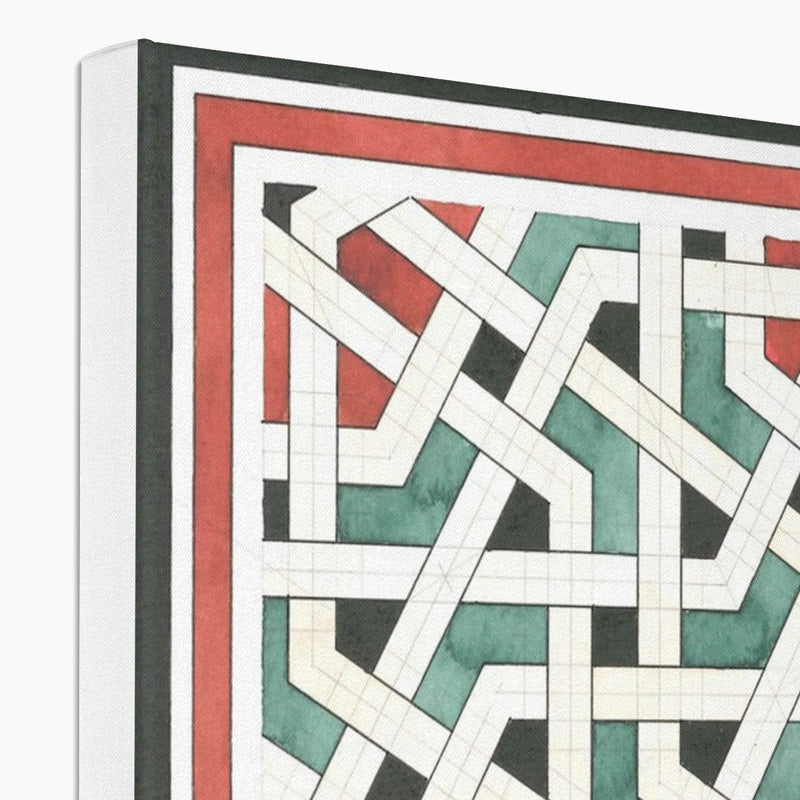 Labyrinth Canvas | Reinout