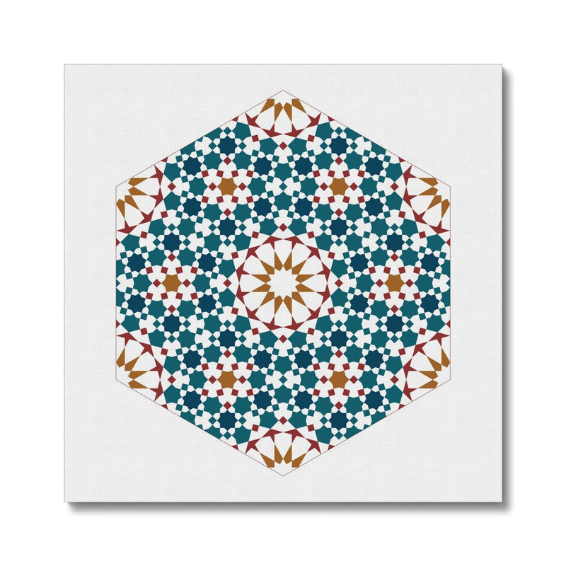 Hexagonal Fractal Canvas | Islam Farid