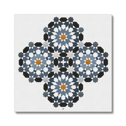 Morrocan Rosettes Canvas | Lieve Oudejans
