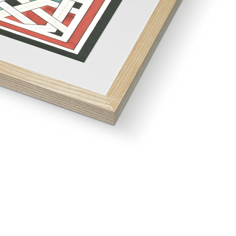 Labyrinth Framed Print | Reinout