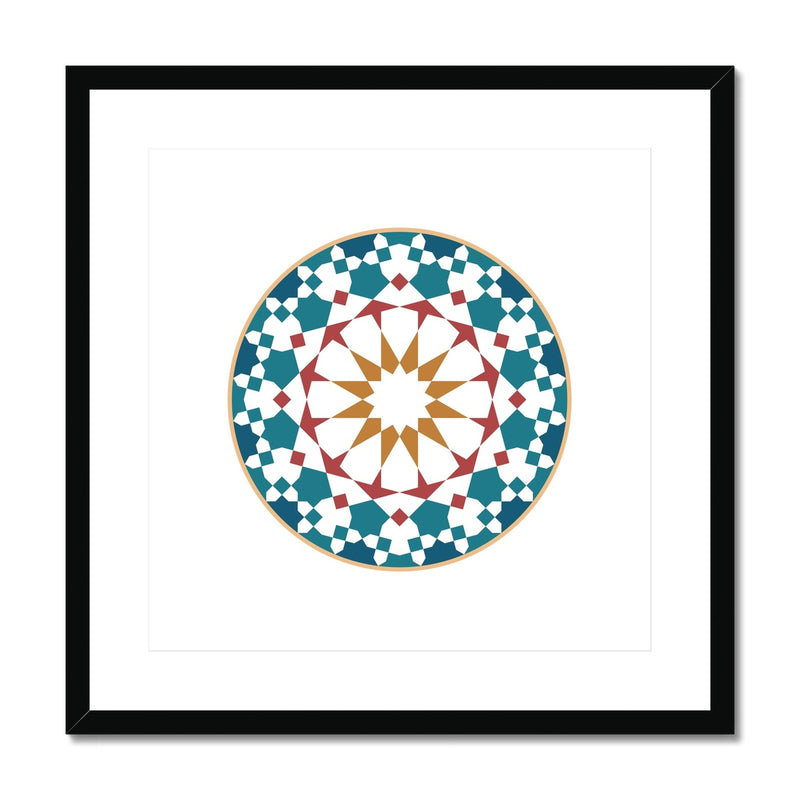 The Circle Framed Print | Islam Farid