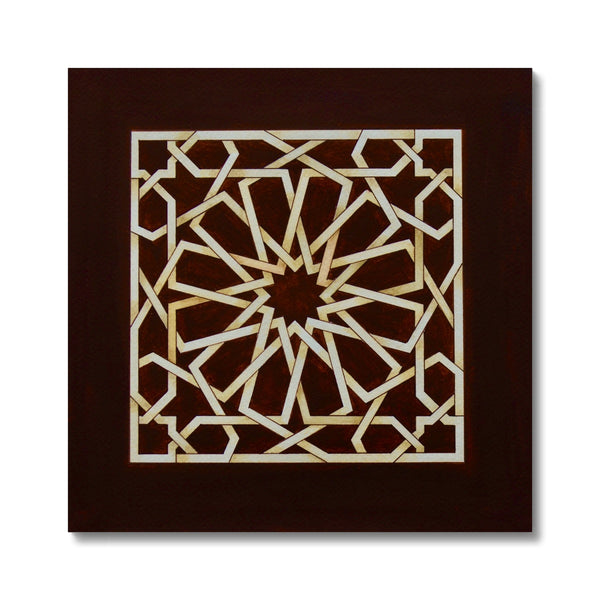 Square of Chocolate Canvas | Marido Coulon