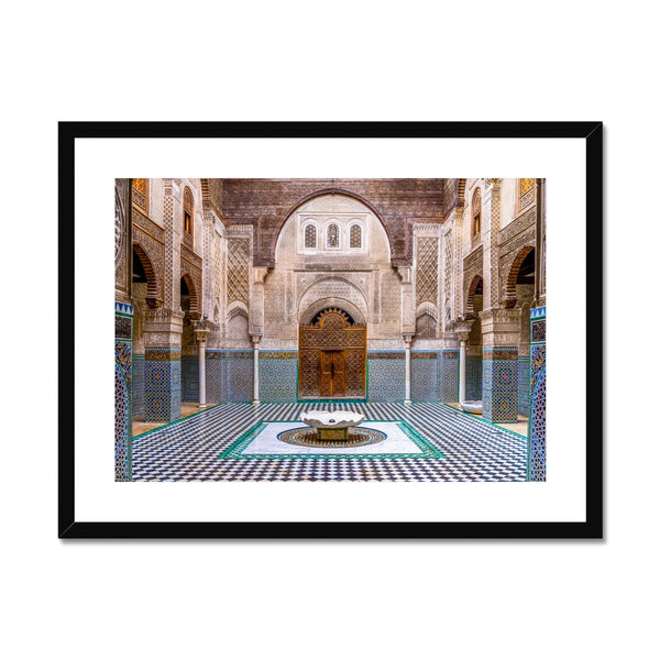 Moroccan Series 002 | Sara Russell Framed & Mounted Print