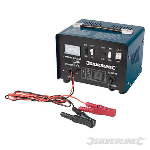 silverline Battery Charger 12/24V