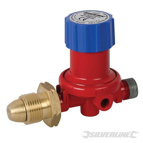Silverline Adjustable Propane Gas Regulator