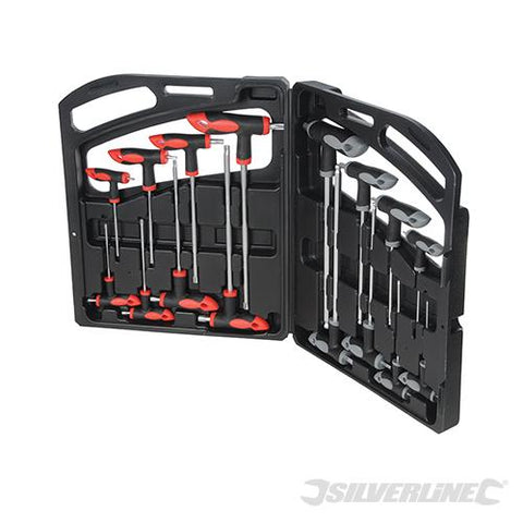 Silverline T-Handle Wrench Set 16pce