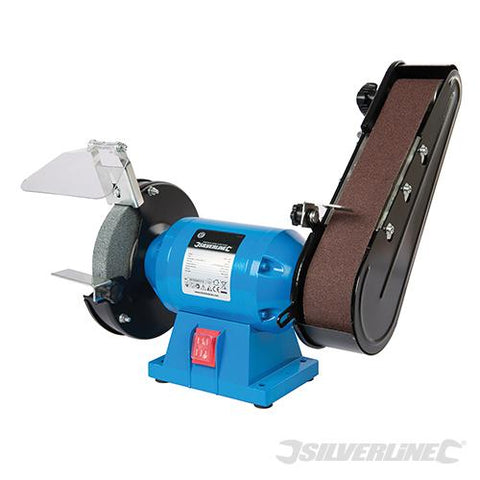 Silverline DIY 240W Bench Grinder & Belt Sander