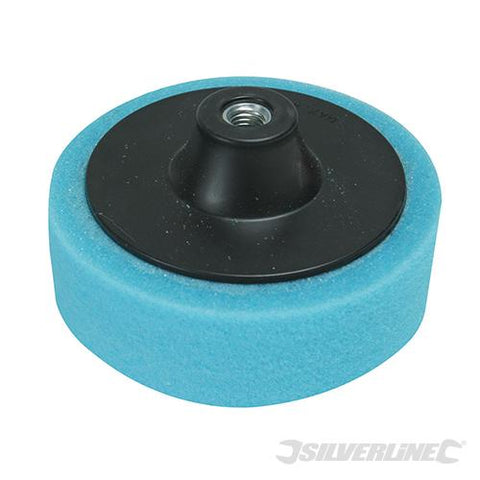 Silverline M14 Foam Polishing Head 150mm Medium Blue