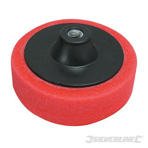Silverline M14 Foam Polishing Head 150mm Ultra-Soft Red