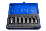 "Bergen BER1192 7PC 3/8"" Dr Hex Bit Set"