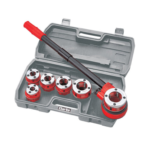 Clarke CHT392 - 6 Piece Pipe Threading Kit