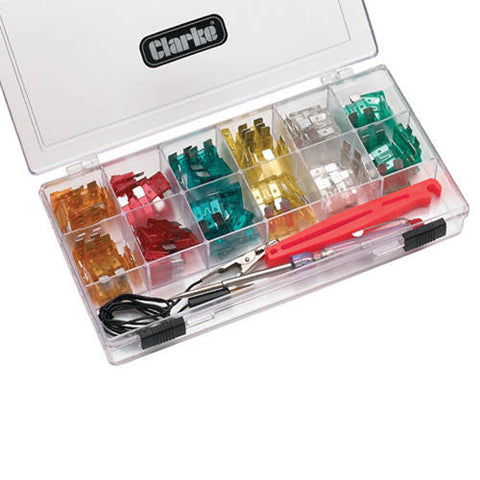 Clarke 93pce Circuit Tester and Car Fuse Kit - CHT570