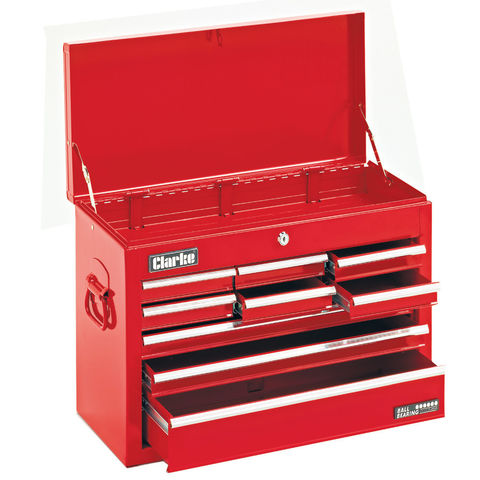 Clarke CTC900B Mechanics' Steel 9 Drawer Tool Chest