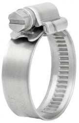 Stainless Steel Worm Gear Hose Clips