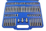 US Pro 75Pc Bit Set Hex Ribe Torx & Security
