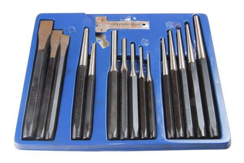 US PRO 16PC Punch & Chisel Set