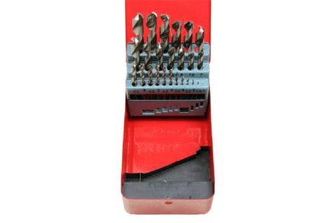 US Pro 25PC HSS Metric Drill Bit Set