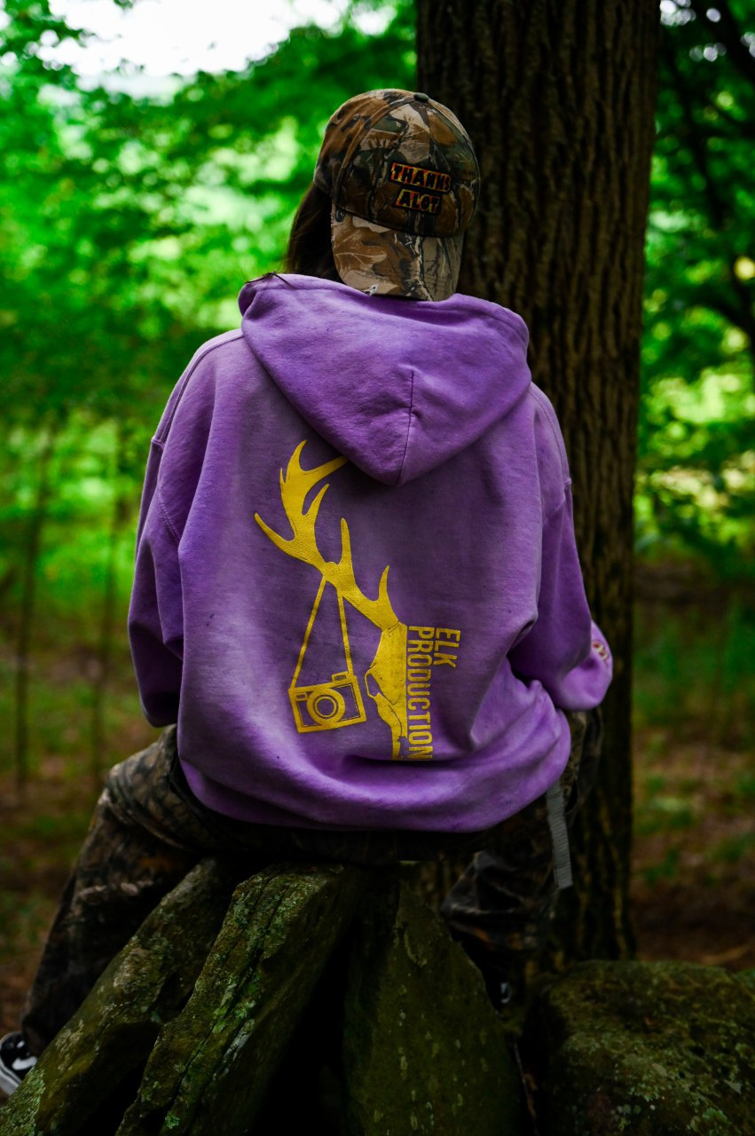 Thanks Alot for Elk Productions Hooded Sweatshirt