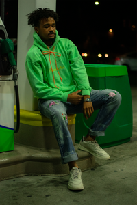 Slime Season Hooded Pullover