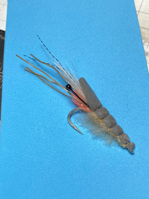 How to tie a Spawning Gurgler Fly for Bonefish