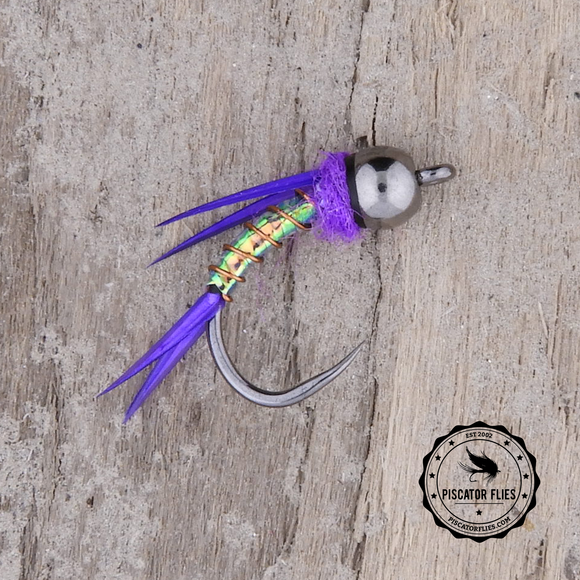 Purple Mylar Prince Nymph